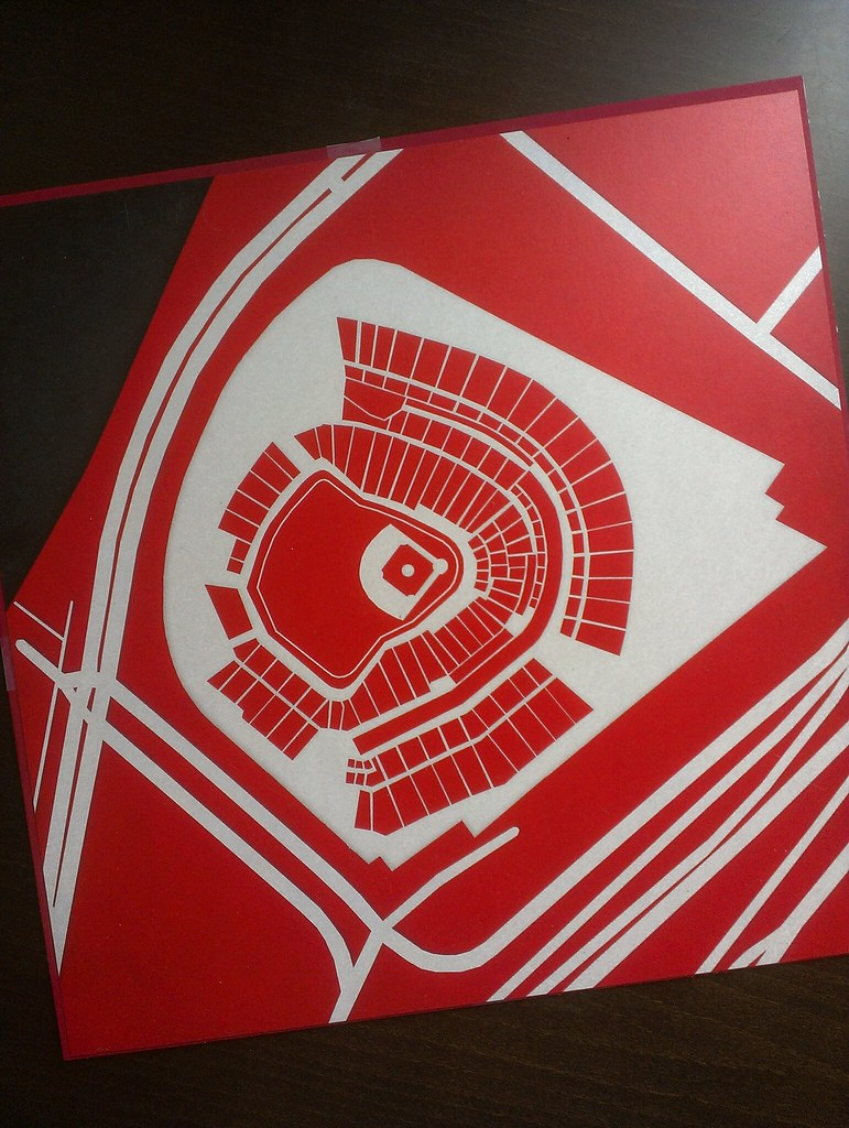 Great American Ball Park print