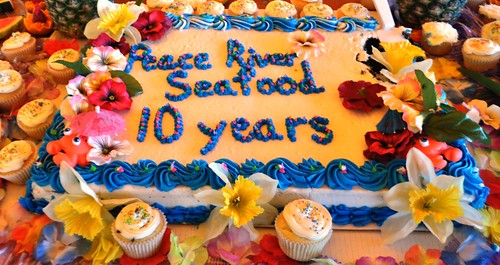Peace River Seafood's 10th Anniversary Party, Punta Gorda, Fla., Feb. 2, 2013