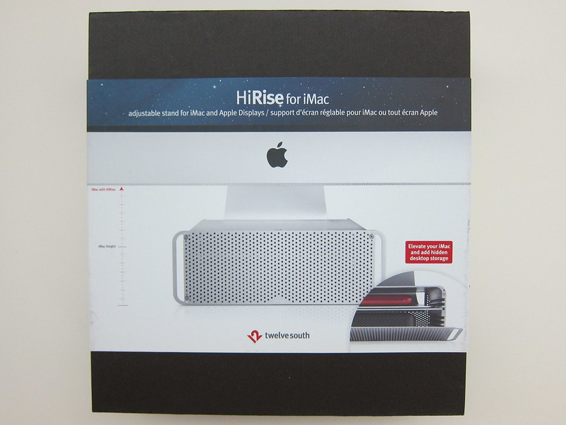 Twelve South HiRise for iMac - Box Front