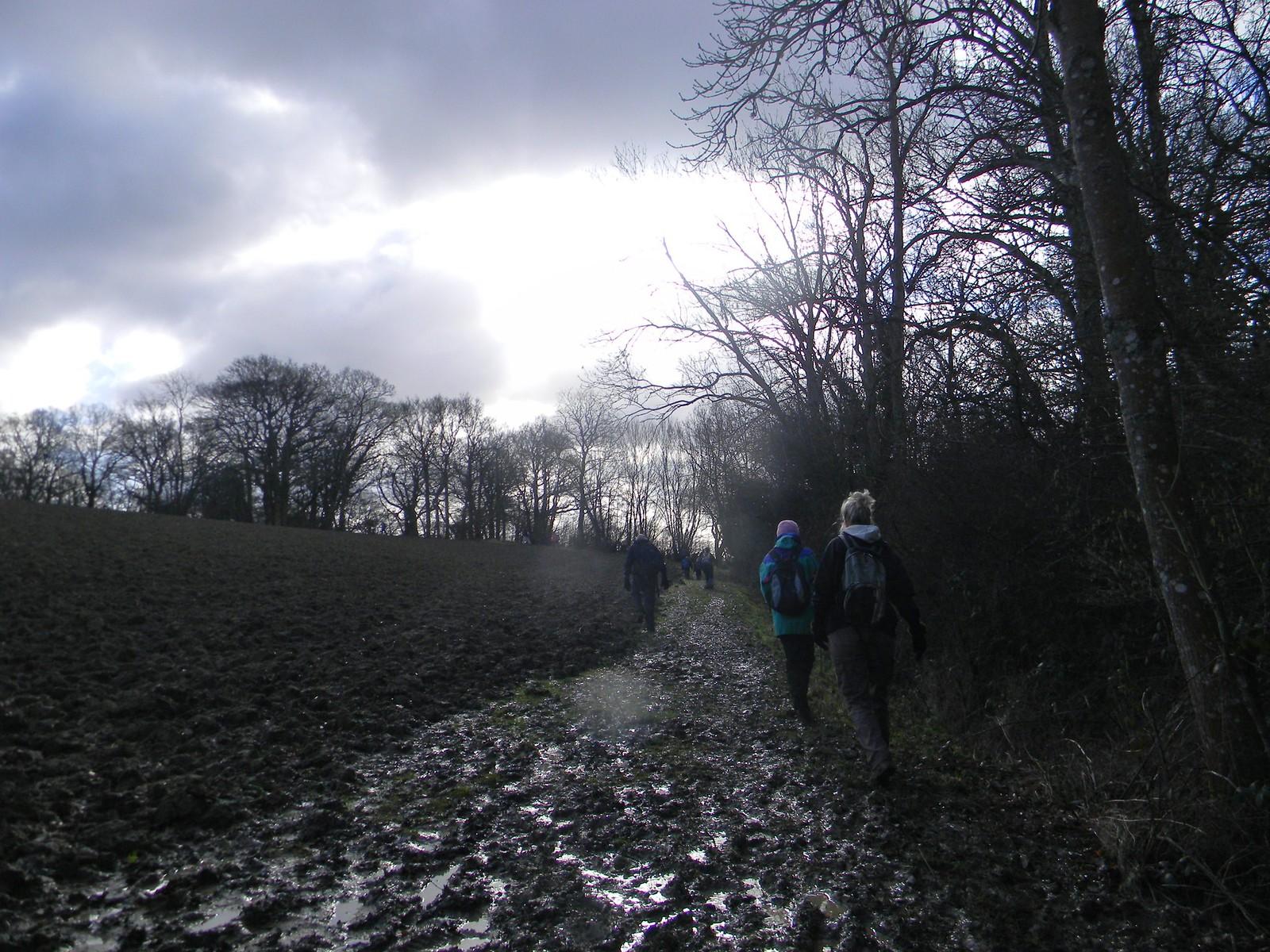 Muddy path Stonegate Circular
