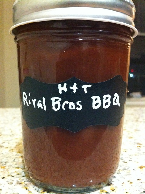 Homemade Rival Bros Coffee BBQ Sauce | Flickr - Photo Sharing!