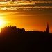 Edinburgh Sunset by marsupium photography