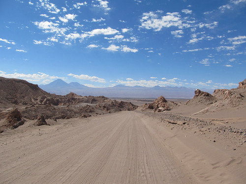 Le désert d'Atacama: el Valle de la Luna