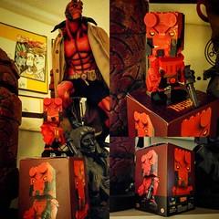 Found @megabloks new #Kubros line w #Hellboy! Thanks @akitzerow! #theswitt #swittart