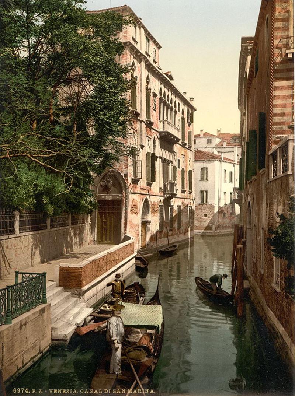 San Marina Canal, Venice, Italy