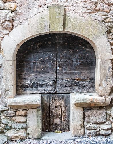 Porte - Saint-Sauveur-de-Cruzières - [Ardèche]