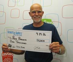 Ron Brown - $1,000 Cash King