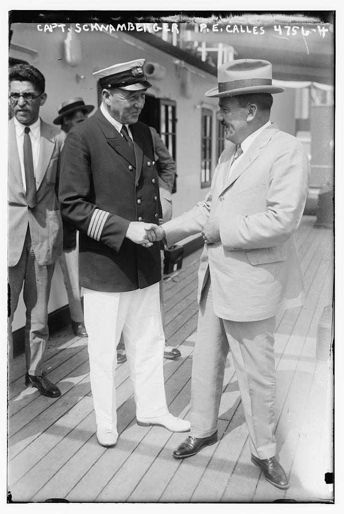 Capt. Schwamberger & P.E. Calles (LOC)