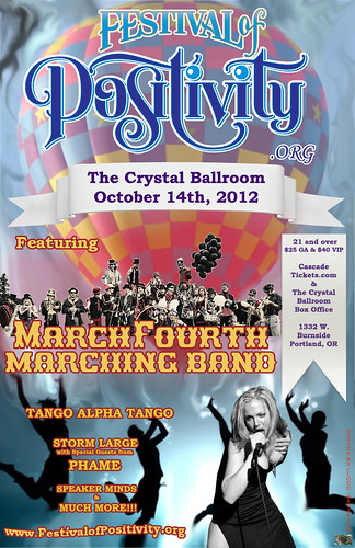 Festival of Positivity @ Crystal Ballroom