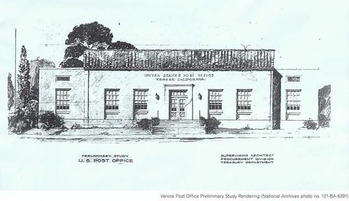 Venice PO preliminary study rendering (c. 1930s)