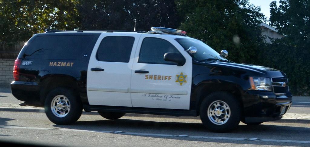 LOS ANGELES COUNTY SHERIFF'S DEPARTMENT (LASD) HAZMAT - CHEVY SUBURBAN