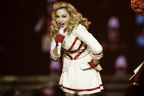 Madonna at Staples Center (10/10/12)