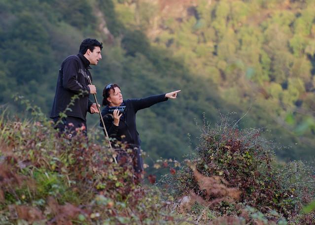 Looking for Red deer in Valle Moru, Asturias