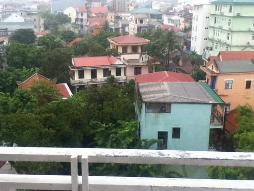 酒店阳台外风景