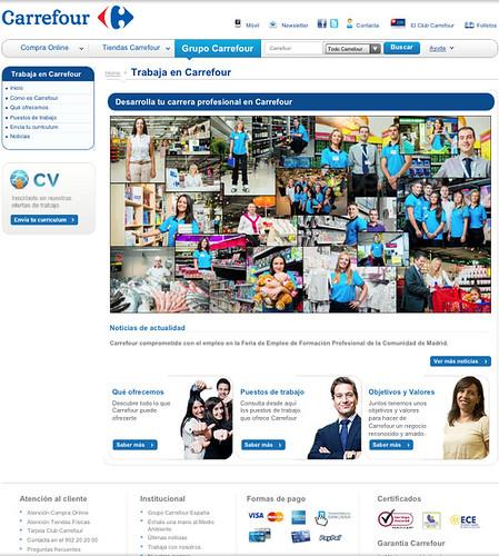 Web de Carrefour