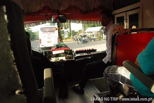 On the Bataan Transit bus to Balanga