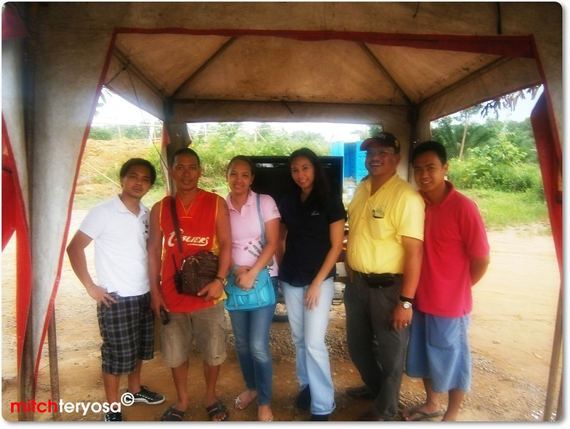Colleagues with Mang Loloy