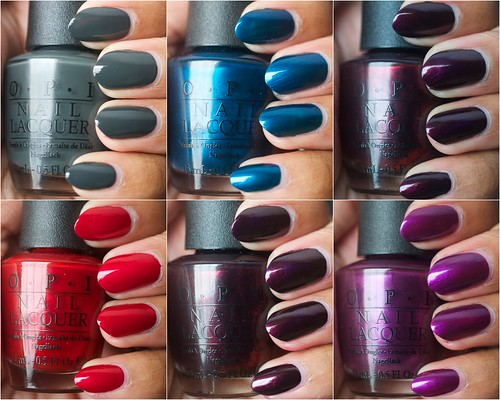 OPI Germany nail polish collection (part 2)