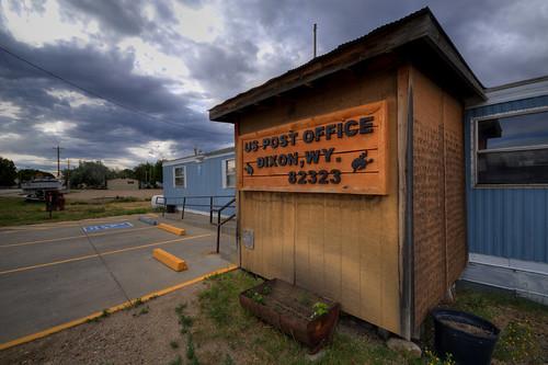 US Post Office - Dixon, Wyoming