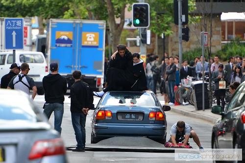 Wolferine Set - Behind the scenes (Parramatta, NSW, Australia)