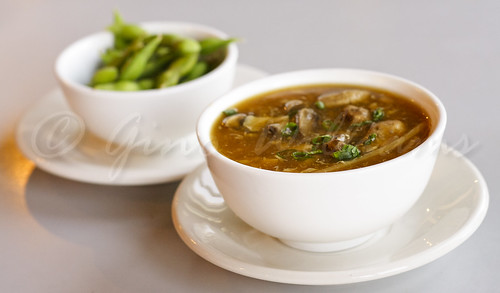 Hot and Sour Soup, Edamame