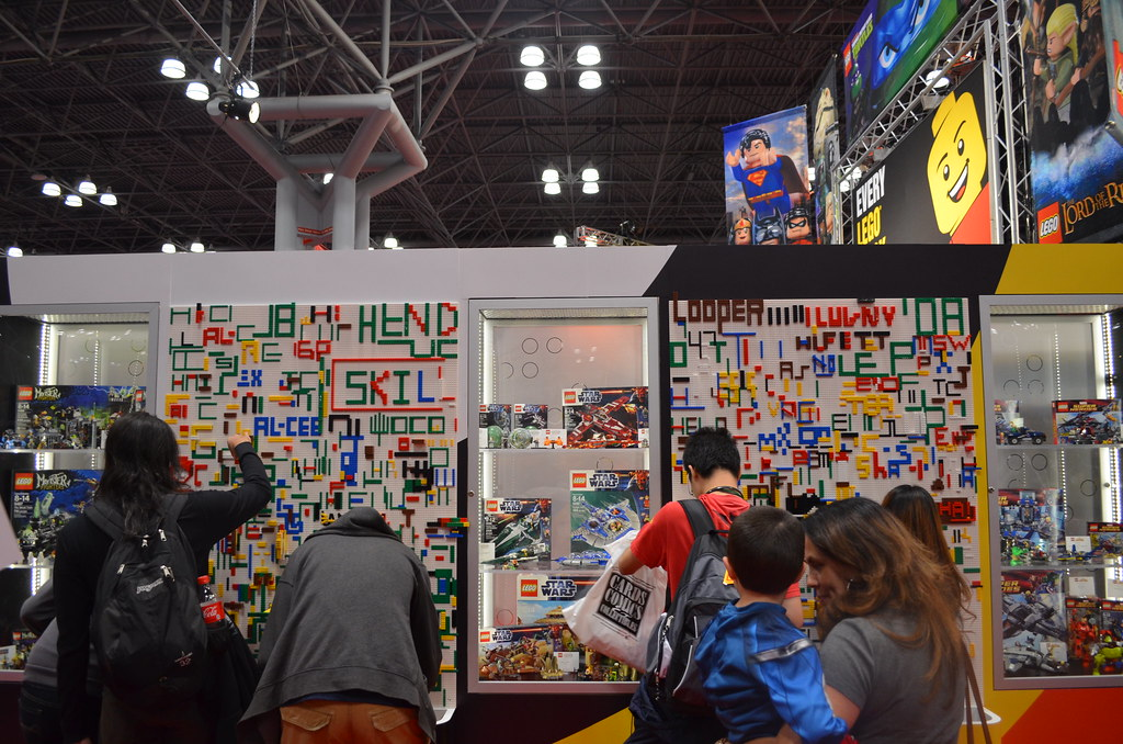 NYCC Lego booth