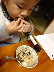 晩御飯 (2012/10/14)