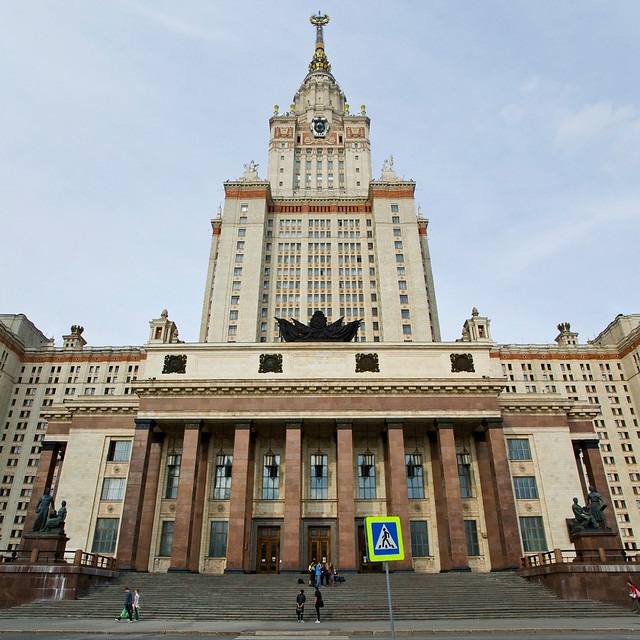 Lomonosov Moscow State University main building