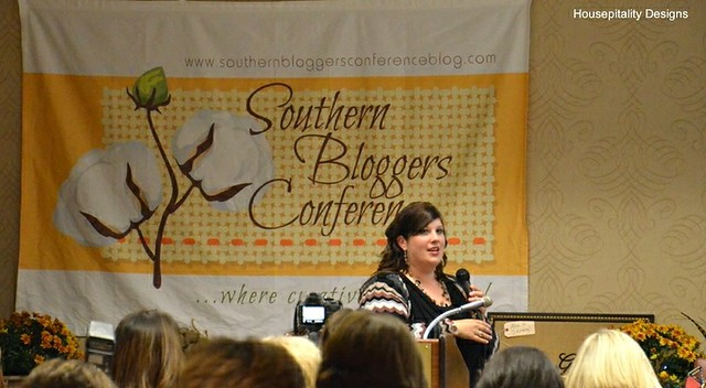 Heather of At the Picket Fence/Southern Bloggers Conference