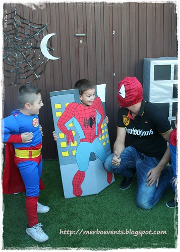 Photocall2. Kit de fiesta spiderman. Merbo events