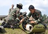 Malaysian soldiers train with Georgia Guardsmen by Georgia National Guard