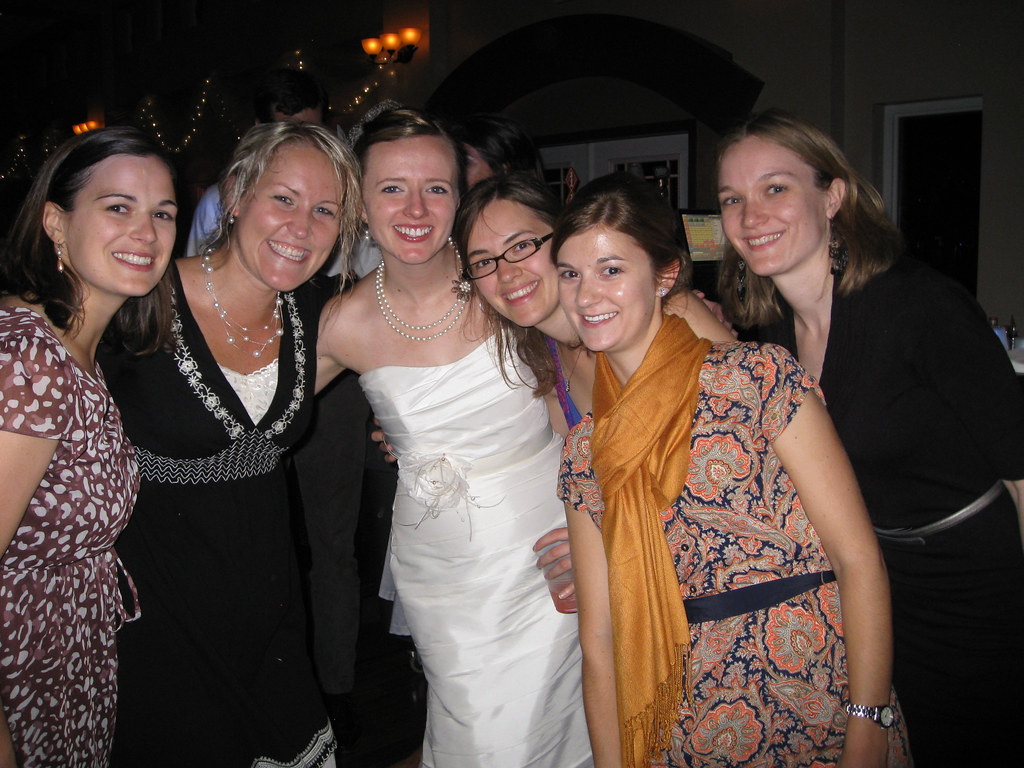 Elysia, Kasie, Erin, Sara, Heather and Kate
