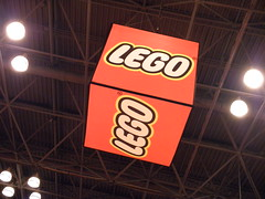 LEGO Booth cube