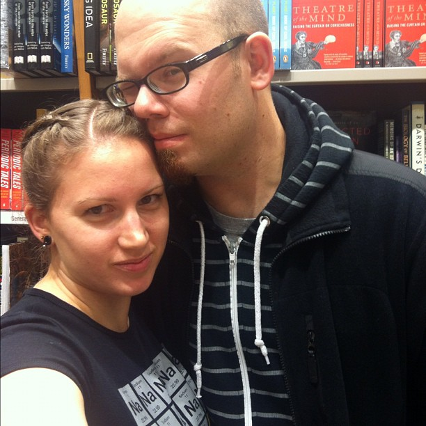date night ... at the book store