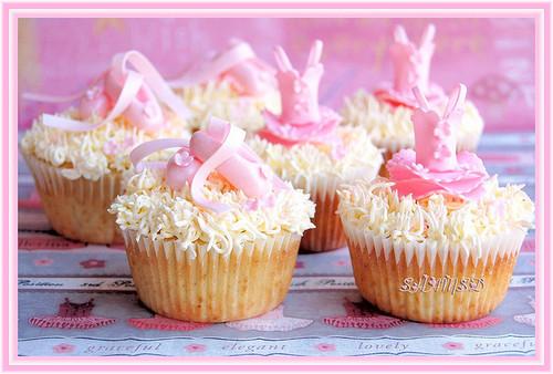 bailarina cupcake