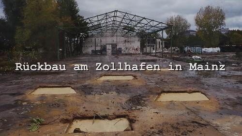Der Zollhafen wird rückgebaut - Mainz - Custom harbour