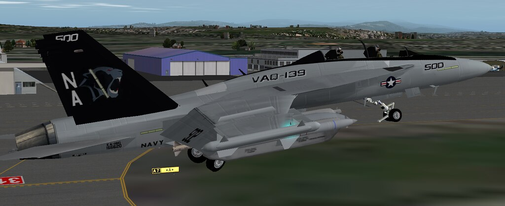 VAQ-139  Cougars E/A-18G