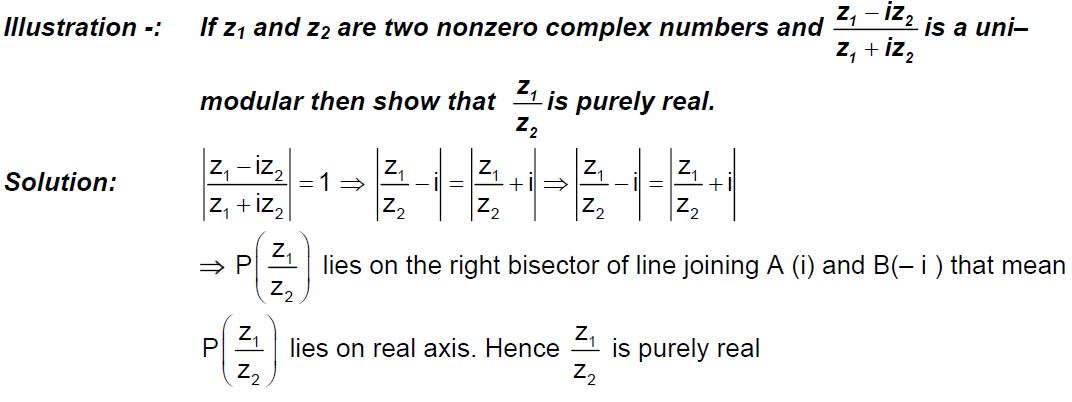Unimodular Complex Number Examples