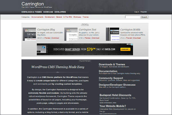 Carrington Free WordPress Theme