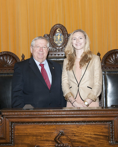 Uxbridge native Sarah Zeis to intern for Senator Moore