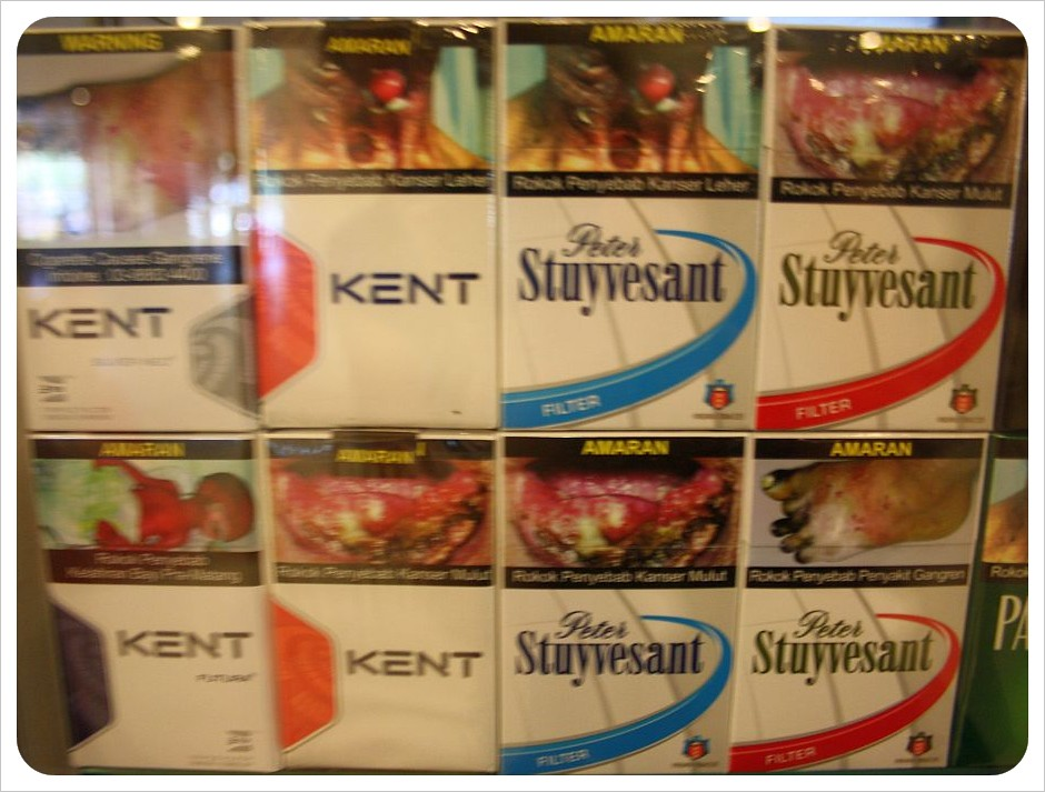 malaysian cigarette packs