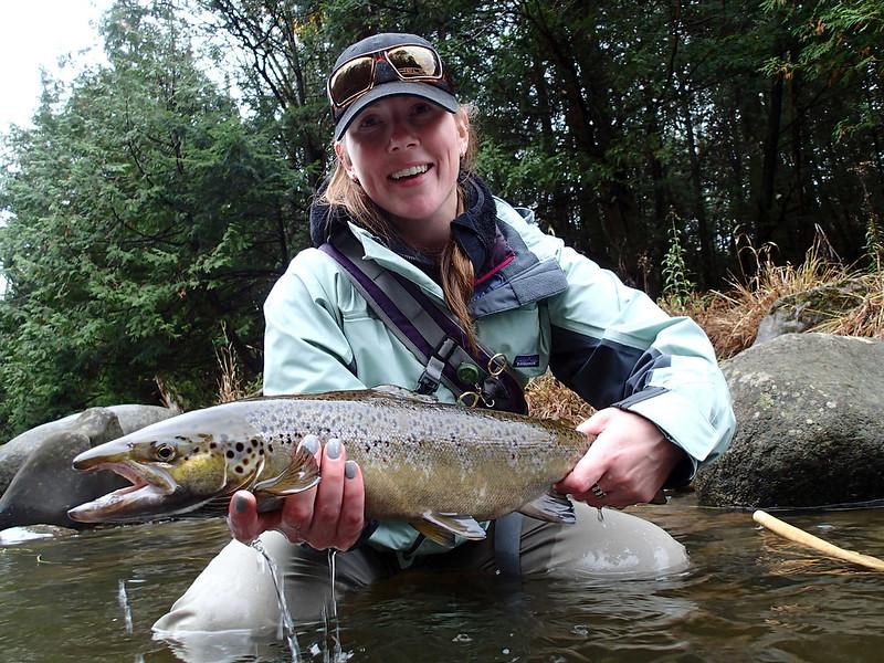 Fish facts landlocked salmon salmo salar sebago orvis for Trout farm fishing near me