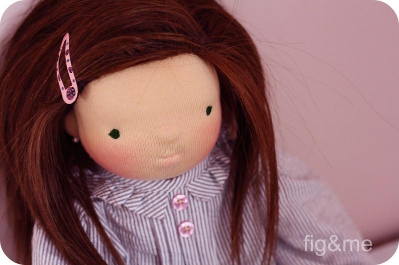 BobbyJo, a handmade doll
