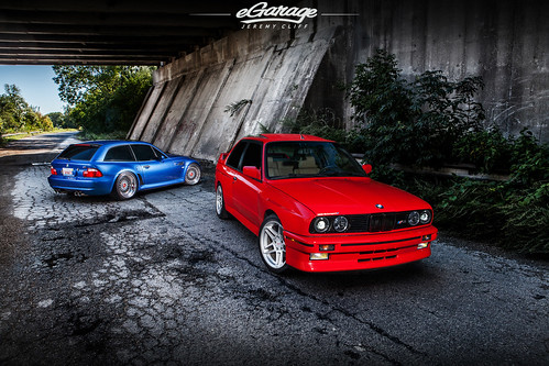 BMW E30 M3 & BMW Z3M Coupe / eGarage by jeremycliff