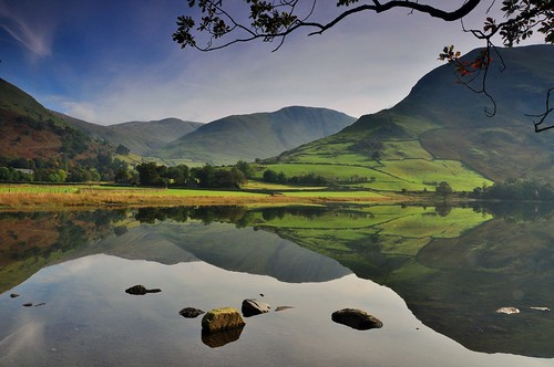 """mountains woodland reflections day cloudy hills swamps fells rivers waters streams becks forests mears reservoirs kirkstone pass"""""""