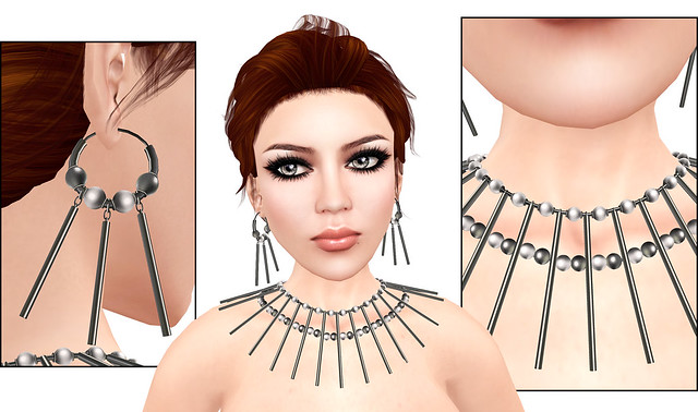 Conquistador Jewelry Set from Amorous.