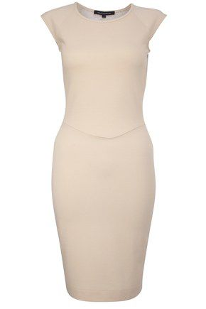 T-Dani Lace Jersey Cap Sleeve Dress