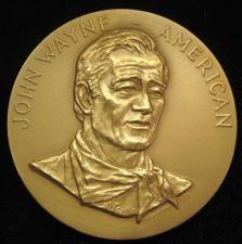 John Wayne medal
