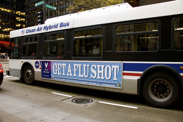 A Good Idea, on the Side of a Bus: Get A Flu Shot