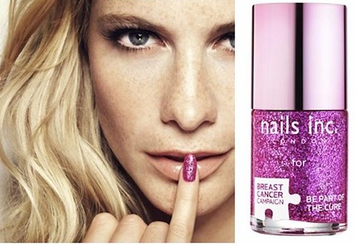 Nails Inc Breast Cancer Paint your pinkie
